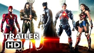 JUSTICE LEAGUE Official Trailer # 2 (2017) Batman, Superhero Movie HD