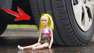 EXPERIMENT: CAR VS DOLL