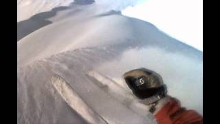 H2O Guides - Schwan Glacier - Clamshell ski run