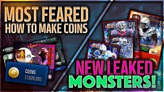 ULTIMATE COIN GUIDE FOR MOST FEARED + SECRET RANDY MOSS, ADRIAN PETERSON LEAKED 95 PLAYERS! MM18!!!!