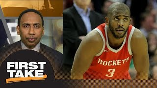Stephen A. Smith: Rockets are better at 'nothing' than Warriors | First Take | ESPN