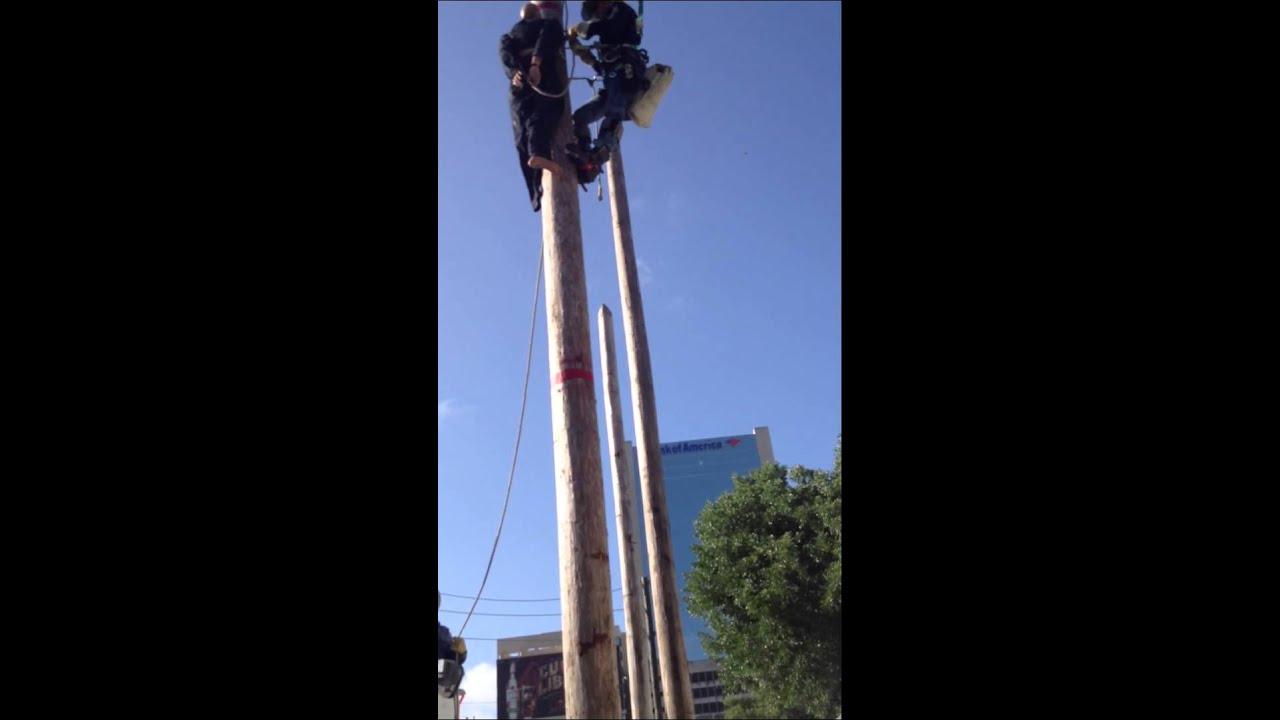 Lineman Rodeo Pole Top Rescue Pole Top Rescue Apprentice