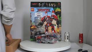 Mở hộp Bela 10720  Lego Ninjago 70615  Fire Mech giá sốc rẻ nhất