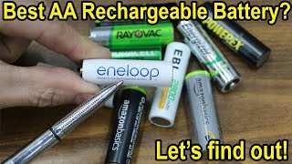 Which AA Rechargeable Battery is Best after 1 Year?  China's NiMH vs Japan's? Let's find out!
