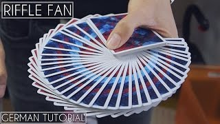 Riffle Fan by Dimitri Arleri | German Tutorial | Cardistry | Hai Do