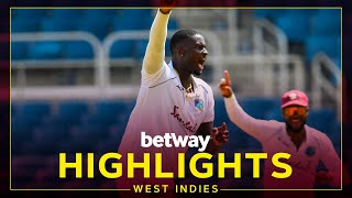 Highlights   West Indies v Pakistan   2nd Test Day 3   Betway Test Series presented by Osaka