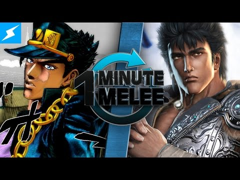 One Minute Melee - Jotaro Kujo Vs Kenshiro (JoJo's Bizarre Adventure vs Fist of the North Star)