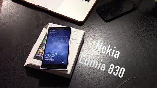 #КАК купить дорогой смартфон дёшево? - Nokia Lumia 830 - подробная распаковка