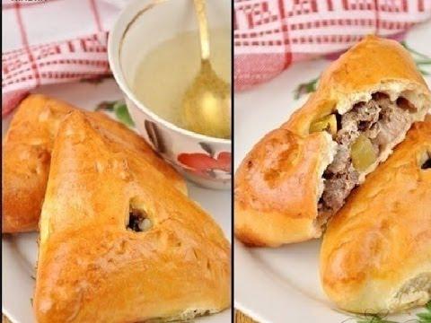 Как приготовить эчпочмак (треугольные пирожки с картошкой и мясом)
