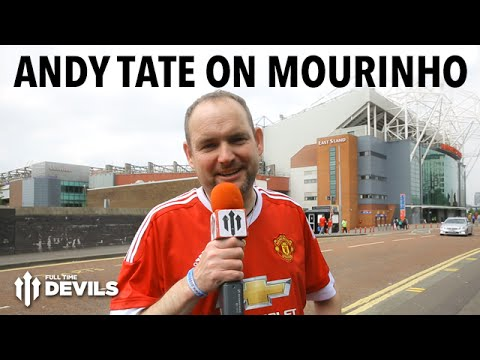Andy Tate on José Mourinho, Zlatan Ibrahimovic and More! | Manchester United