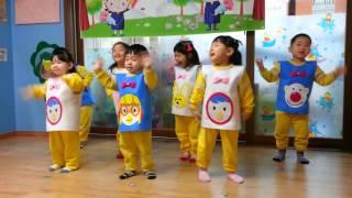 2014 또래방 어린이집 졸업식 고래의 노래 부르기