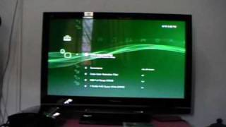 my EX-PS3 SETUP PLASMA TV