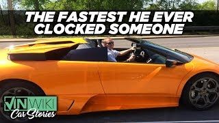 I got caught at 3x the speed limit in Ed's Lambo
