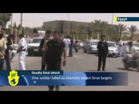 Egyptian soldier killed in Islamist Sinai attack following overthrow of Muslim Brotherhood regime