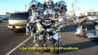 Dancing Robot, Real, Steel, Transformer Worlds Best EVER!!