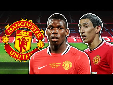 Top 10 Manchester United Rejects | di Maria, Pogba & Forlan!