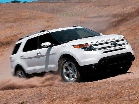 2012 Ford Explorer EcoBoost - First Test