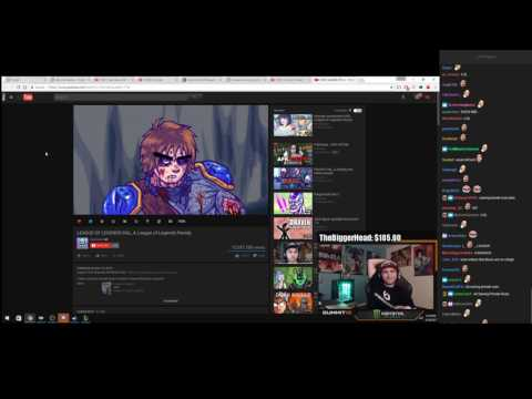"SUMMIT1G REACTS TO ""LEAGUE OF LEGENDS FAIL, A League of Legends Parody"""