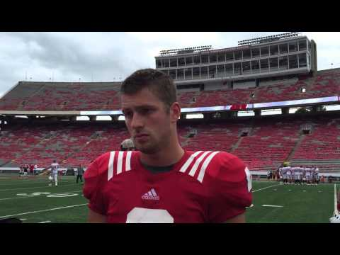 Video: Badgers' Tanner McEvoy talks about being slotted as a regular WR