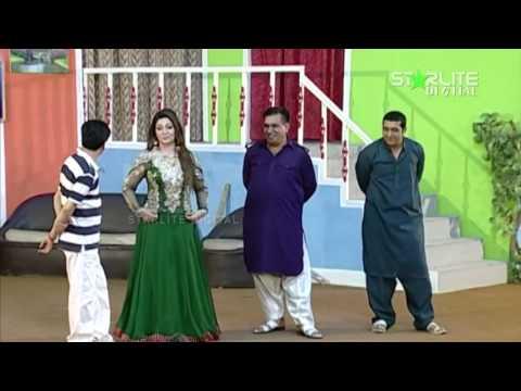 Rangeeli New Pakistani Stage Drama Trailer Full Comedy Show 2015