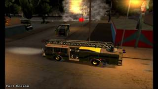 Fort Carson Roleplay: Bone County Fire Department Tribute - GTA SA
