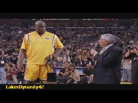 1999-00 Los Angeles Lakers Championship Season Part 2/4