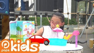 Đồ chơi trẻ em - Búp Bê Barbie - Chơi công viên nước - Thế giới cúp bế tập 5