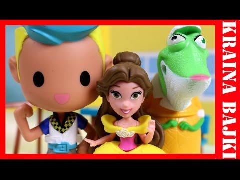 Bajka dla Dzieci po polsku | Disney Princess & Barbie w Świecie Gier & Happy Meal Sing | Biblioteka