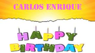 Carlos Enrique   Wishes & Mensajes - Happy Birthday