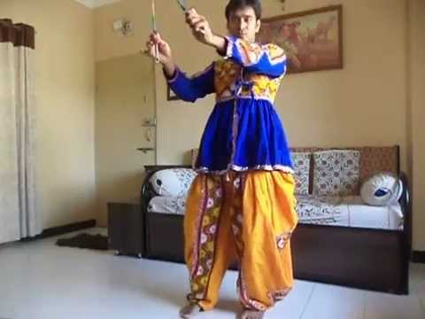 Learn Dandiya in 5 simple basic steps by Bhushan Pawar