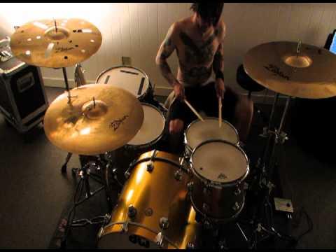 ATOM WILLARD Works Out Parts For Danko Jones recording