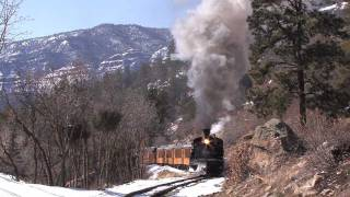 Steam in the Rockies - Durango and Silverton Flanger Special