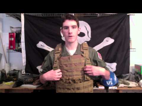OE Tech/Condor MPS Combat Chest Armor Review- Tactical Gear Reviews- Jolly Roger Airsoft