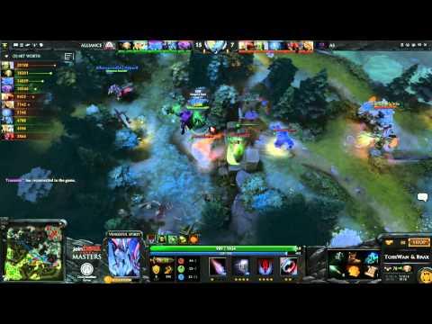 Last Standing The Alliance vs AS Game 3  joinDOTA Masters Semifinal  TobiWanDOTA braxlikesdota