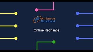 Alliance Broadband Online Recharge