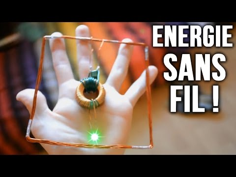 Energie sans fil : Incroyables Expériences [83] Transmission d'énergie / Wireless power / Witricity