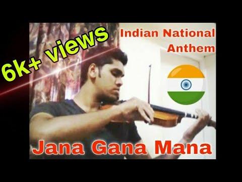 Indian National Anthem - jana Gana Mana On Violin video