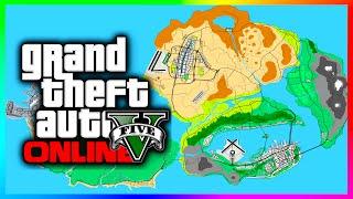 Amazing GTA 5 Concept Map Featuring Las Venturas & San Fierro! (GTA V)