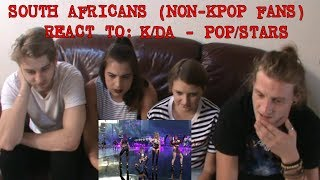 SOUTH AFRICANS REACT TO KPOP (non-kpop fans): K/DAY -POP/STARS