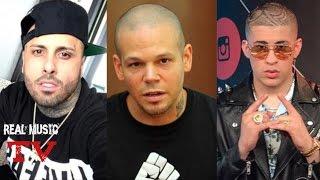 Nicky Jam Y Mas Artistas Le Tiran A Residente Calle 13 l Bad Bunny Frontiando Con Su Nuevas Cadenas