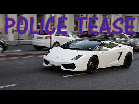 #Throwback Thursday: Lamborghini Teases Police