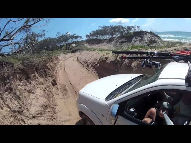 Fraser Island 2012 Fishing Trip, Queensland, Australia, 4wd Beach Driving GoPro
