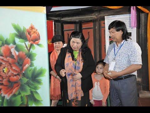 Glass painting in Vietnam-Nghệ thuật tranh kính Việt Nam
