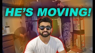 HE'S MOVING! - DhoomBros (ShehryVlogs # 112)