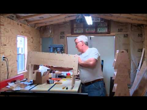 How to Build a CNC Router On A Shoestring Budget Part one Assembling the Gantry