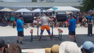 BRIAN SHAW SQUAT LIFT WSM 2019 FINALS