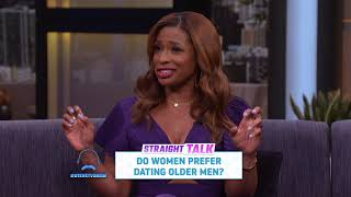 Straight Talk: Do Women Prefer Older Men? || STEVE HARVEY