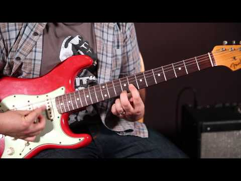 Double Stop Blues Lick - Blues Soloing And Rhythm, Strat