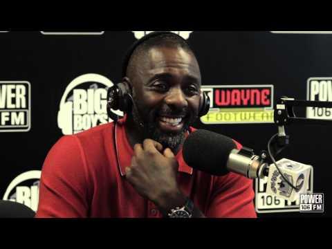 Idris Elba Talks