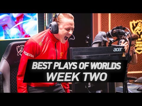 Best Plays of Week Two: Worlds 2017   LoL eSports